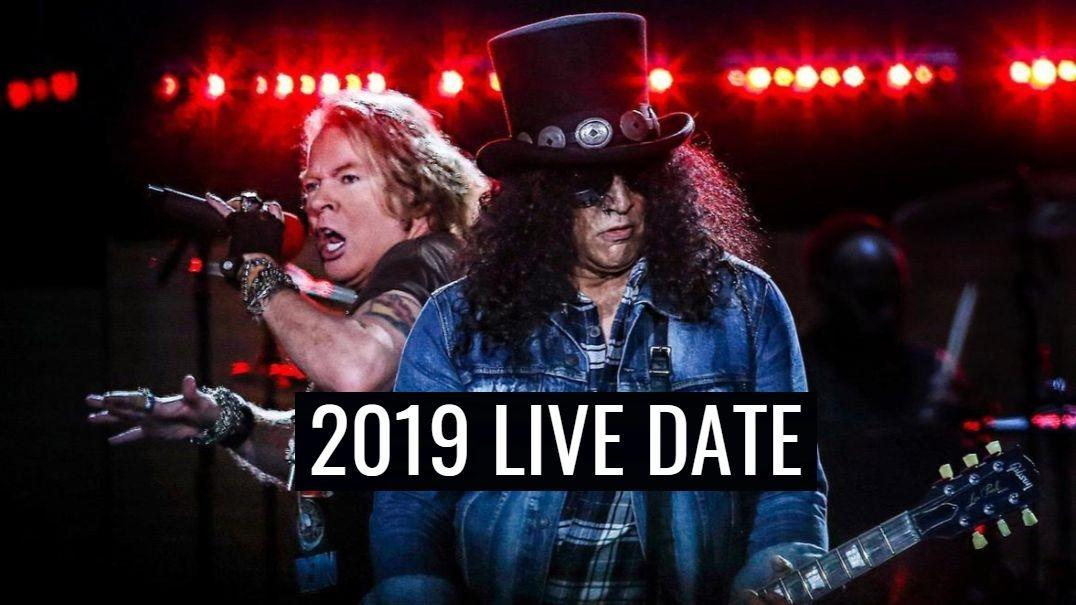 Guns N Roses 2019