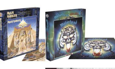 Iron Maiden Motorhead puzzle
