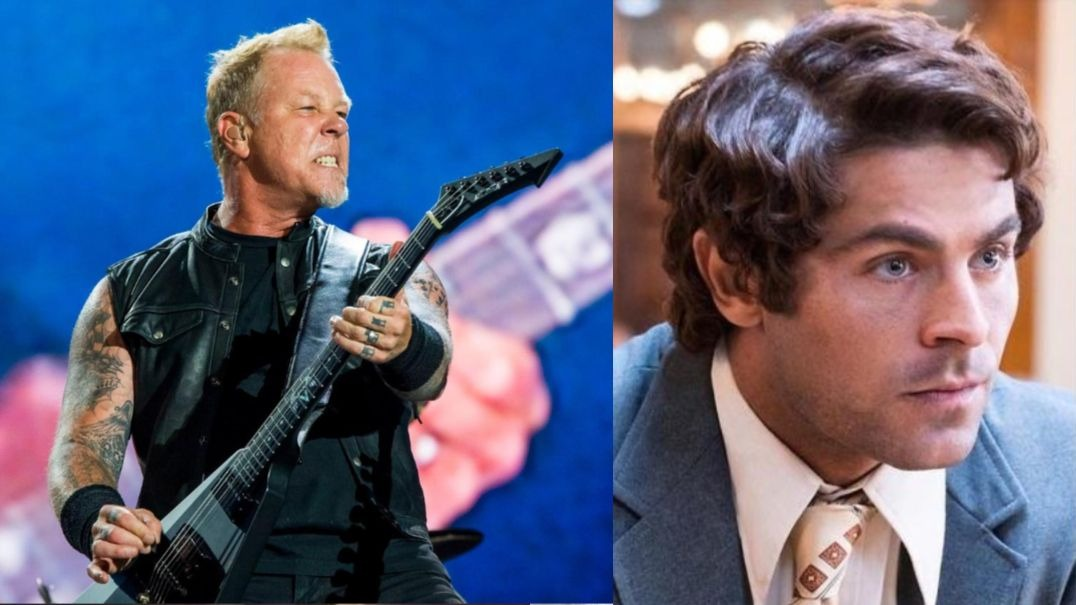 James Hetfield Zac Efron