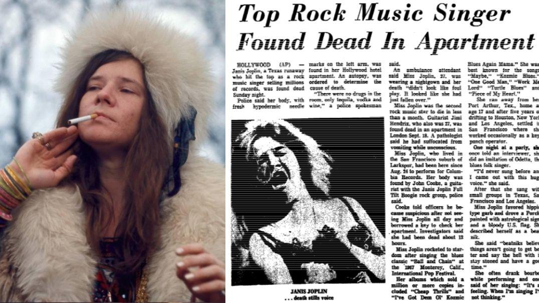 Janis Joplin death