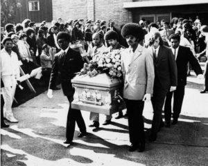 Jimi Hendrix funeral