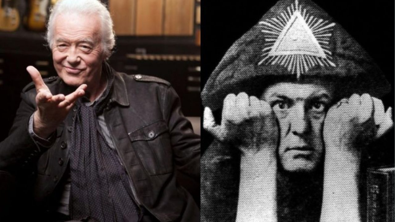 Jimmy Page and his relation with the occult