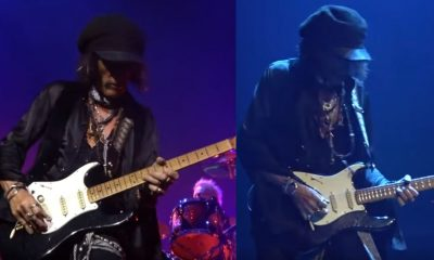 Joe Perry playing