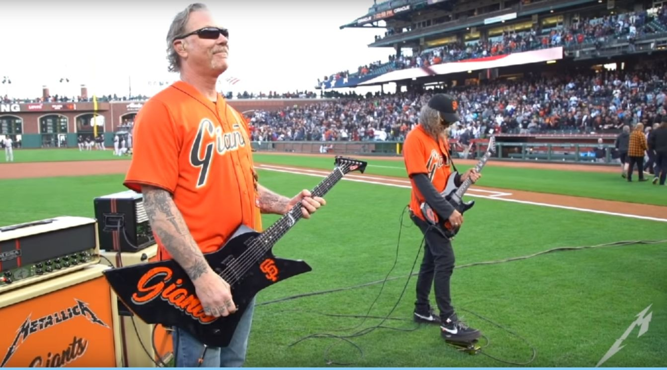 Metallica United States National Anthem