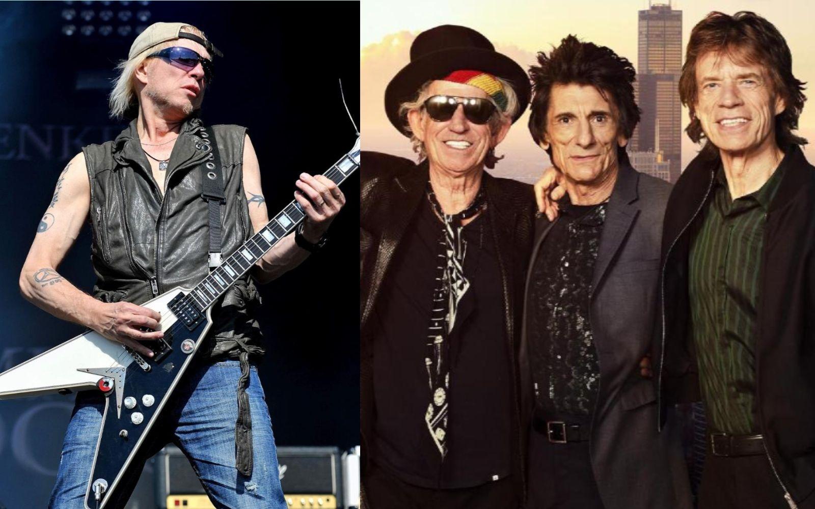 Michael Schenker Rolling Stones