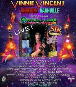 Nashville Tenesse Vinnie Vincent