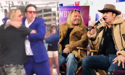 Nicolas Cage Vince Neil Fight
