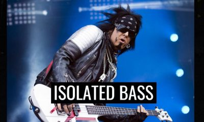 Nikki Sixx isolated bass shout at the devil