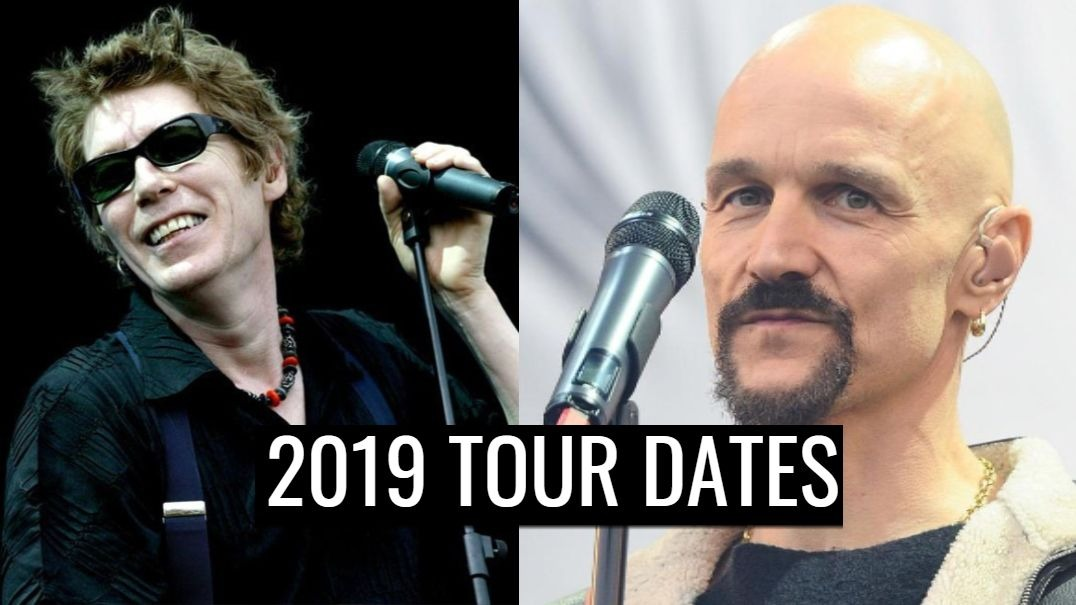 Psychedelic Furs and James 2019 tour