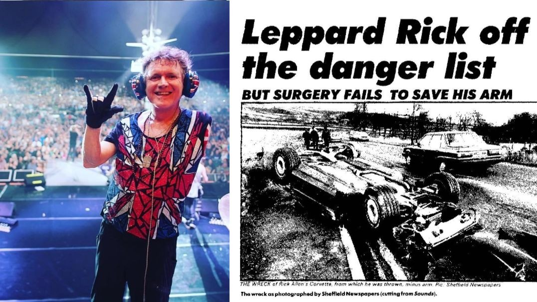 Rick Allen car accident