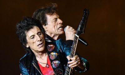 Ronnie Wood Mick Jagger 2019
