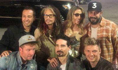 Steven Tyler Backstreet Boys