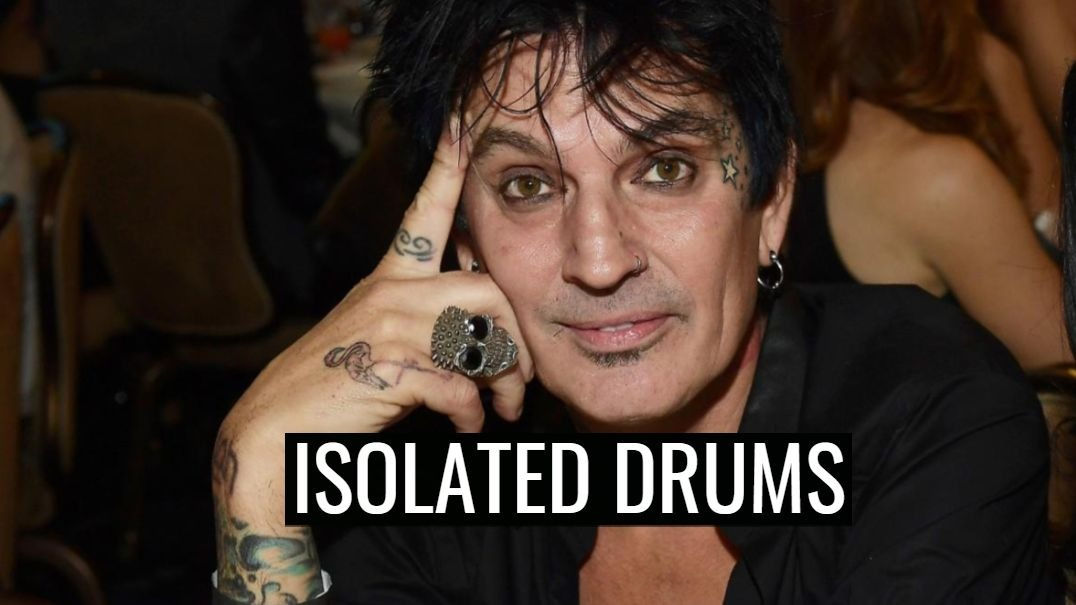 Tommy Lee Isolated Drums