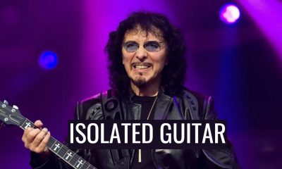 Tony Iommi isolated guitar