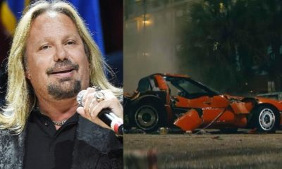 Vince Neil car crash