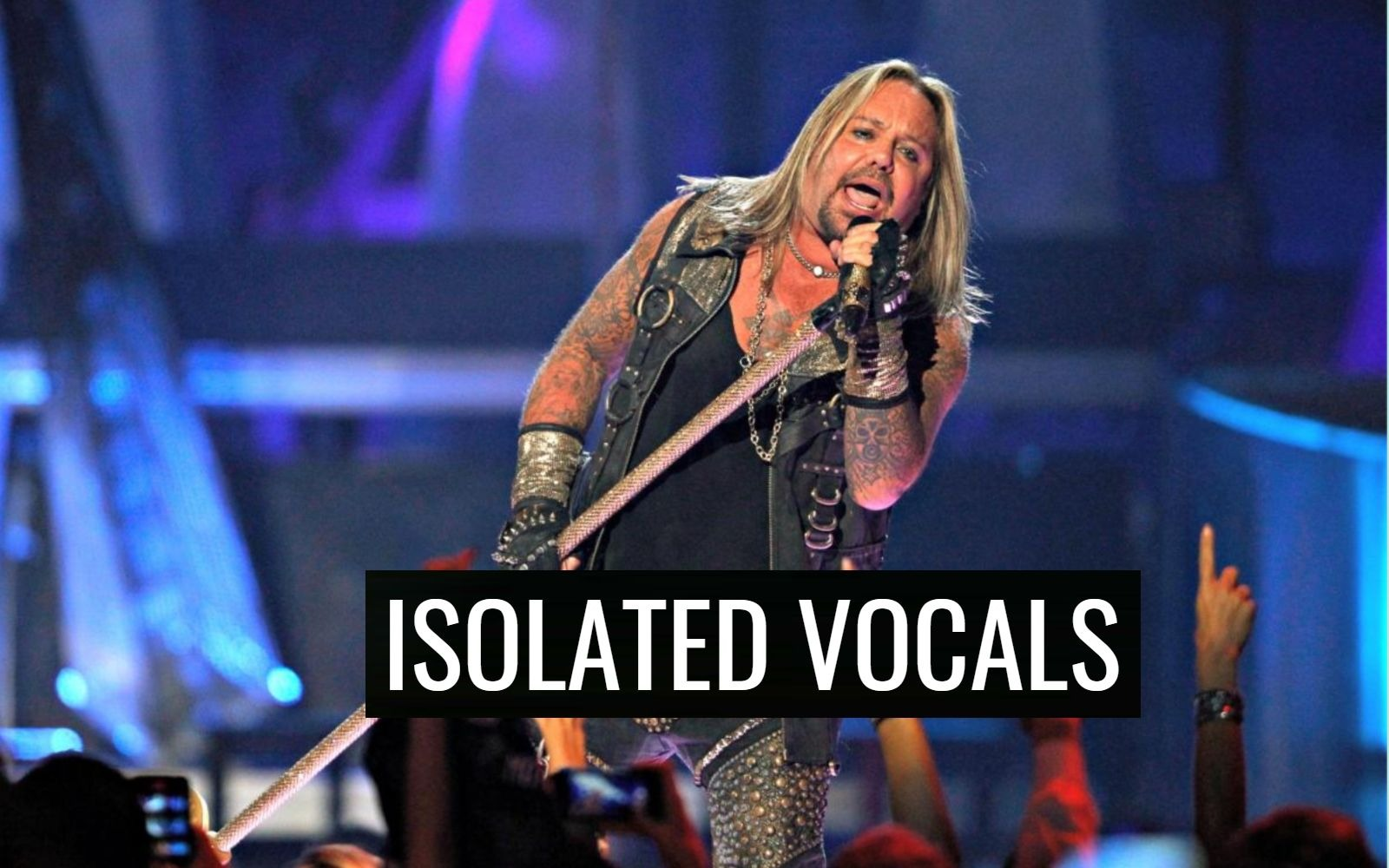 Vince Neil isolated Vocals