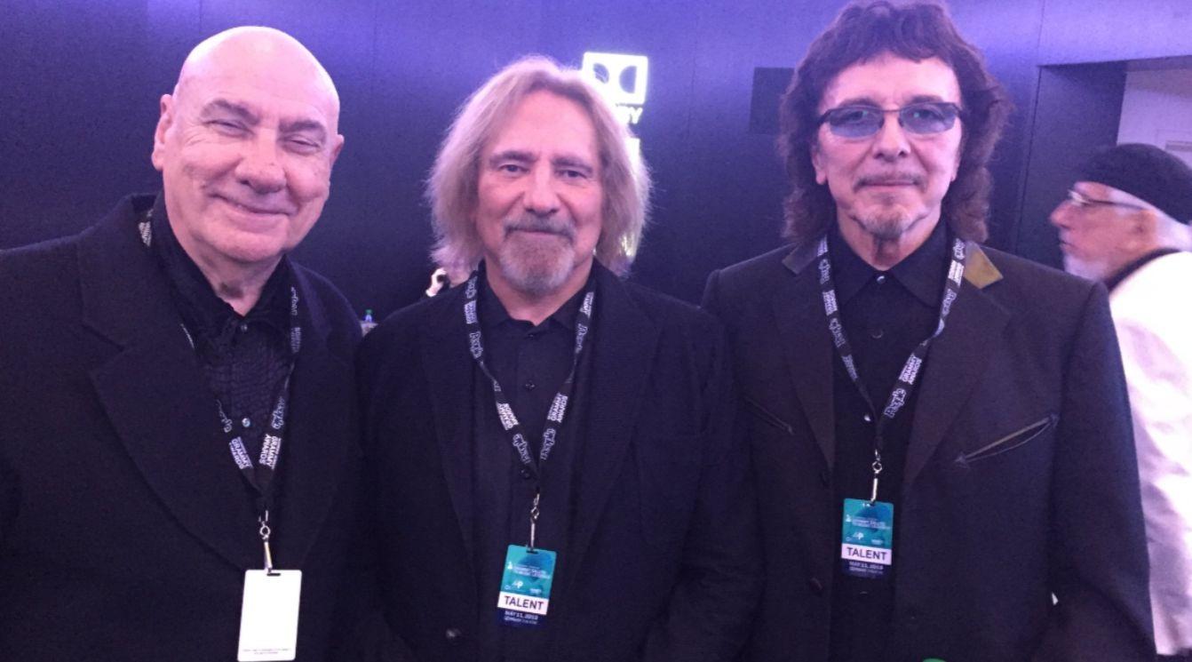 Bill Ward Geezer Butler Tony Iommi 2019