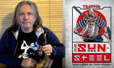 Bruce Dickinson Iron Maiden beer