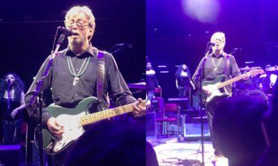 Eric Clapton purple rain