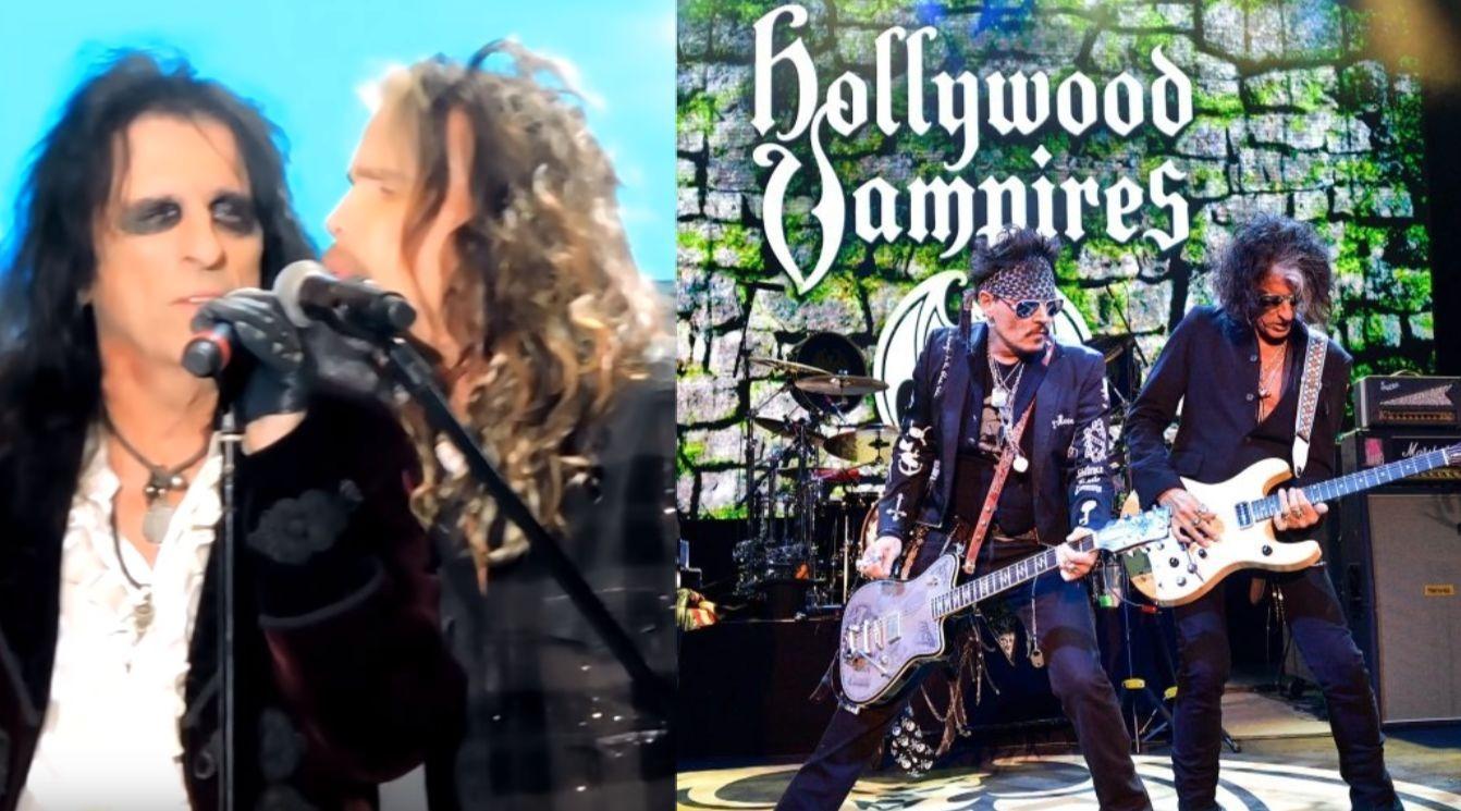 Hollywood Vampires Steven Tyler