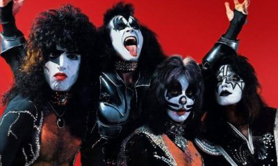 KISS In the 70s red