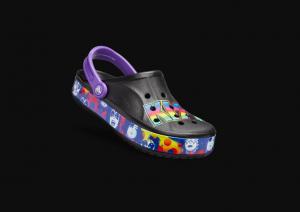 Kiss crocs colorful