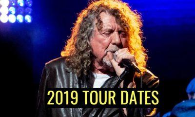Robert Plant tour dates 2019