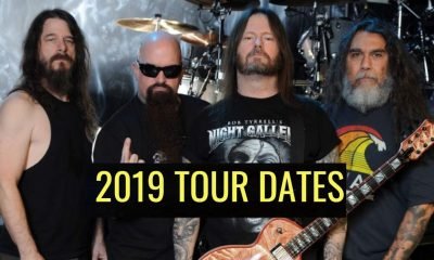 Slayer 2019 tour dates