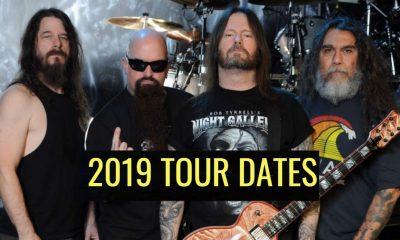 Slayer 2019 tour dates