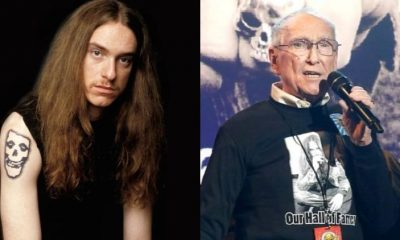 Cliff Burton and father