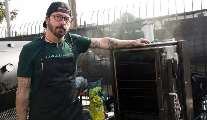 Dave Grohl barbecue