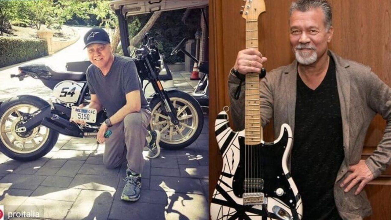 Recent Photo Of Eddie Van Halen Raise Rumors About His Health