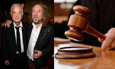 Jimmy Page Robert Plant court