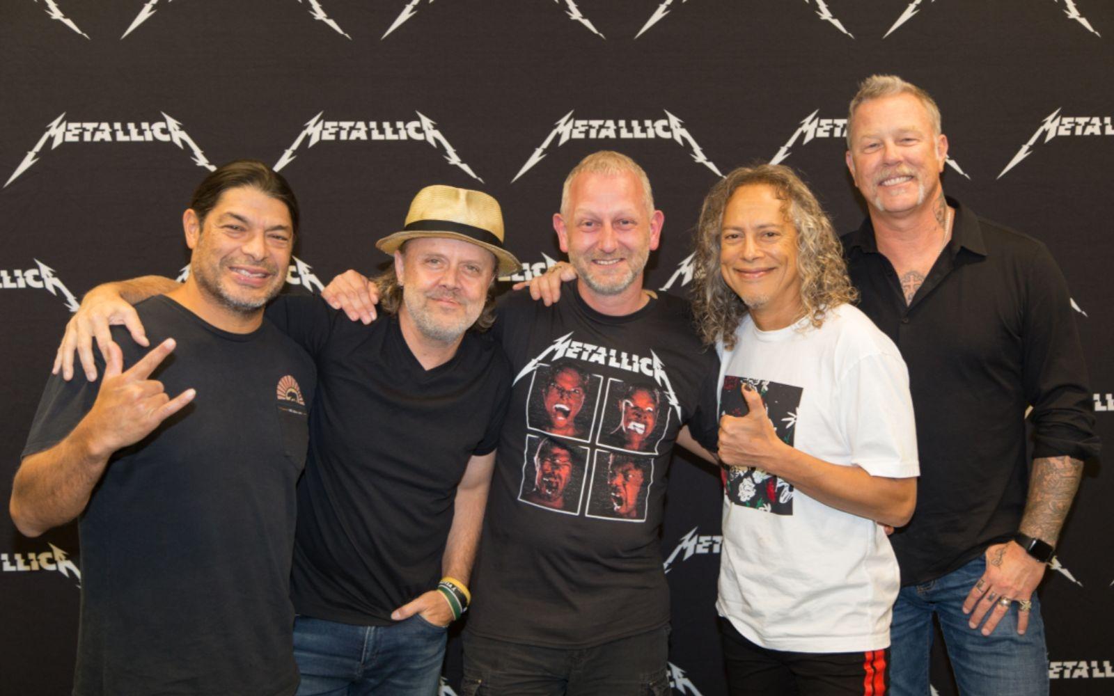 Metallica Meet and Greet