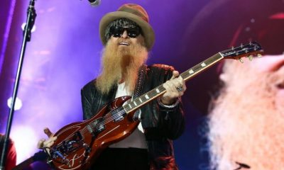 Billy Gibbons isolated guitar