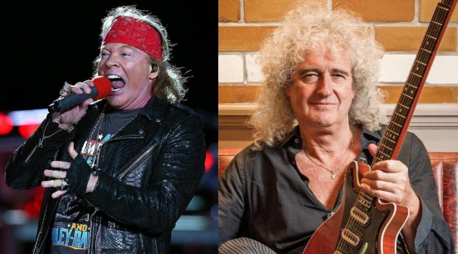 Unreleased Guns N' Roses song featuring Brian May leaks online