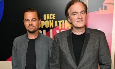 Leonardo Di Caprio Quentin Tarantino