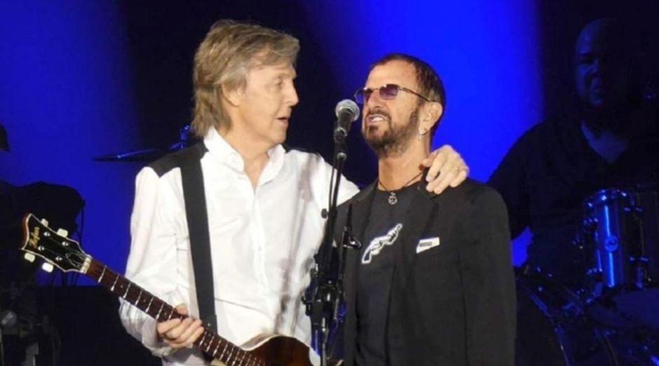 Paul McCartney Ringo Starr 2019