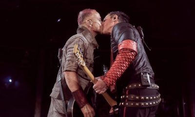 Rammstein kissing