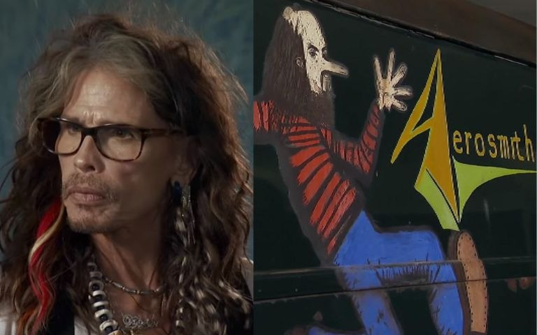 Steven Tyler Aerosmith lost van