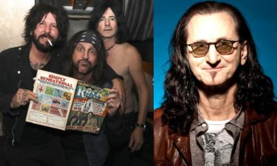 Tracii Guns Geddy Lee