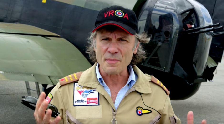 Bruce Dickinson WW2 airplane