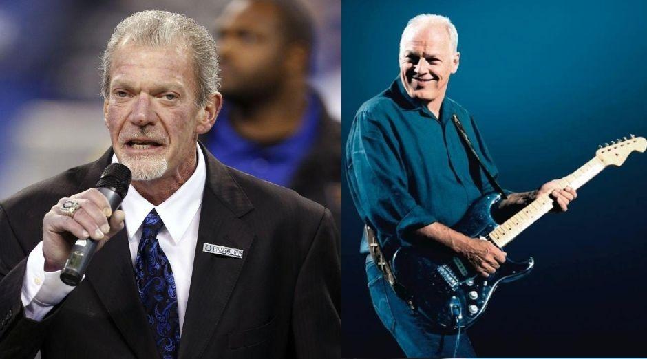 Jim Irsay David Gilmour