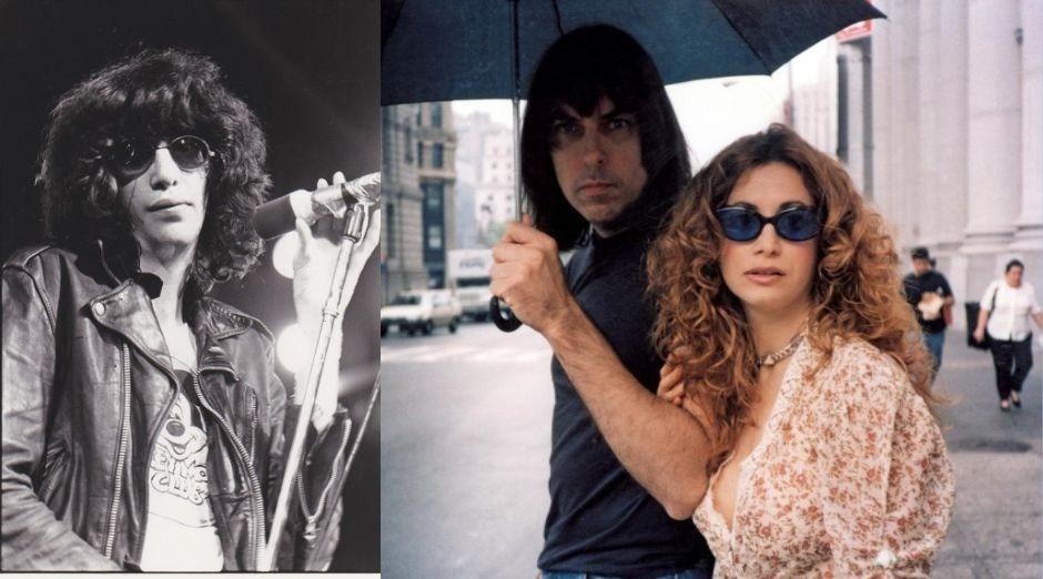 Joey Ramone Linda Ramone Johnny Ramone