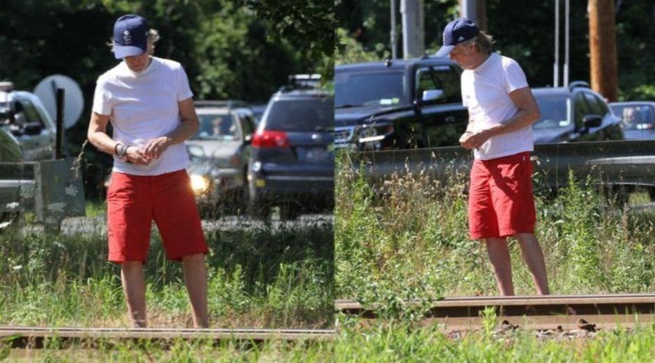 Paul McCartney train tracks