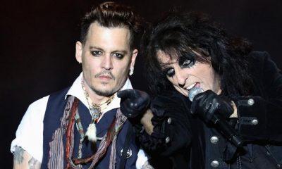 Alice Cooper Johnny Depp 2019