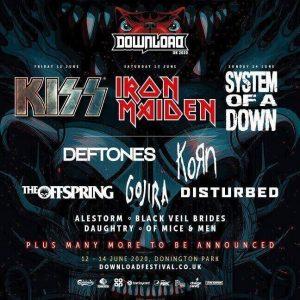 Download Festival lineup 2020