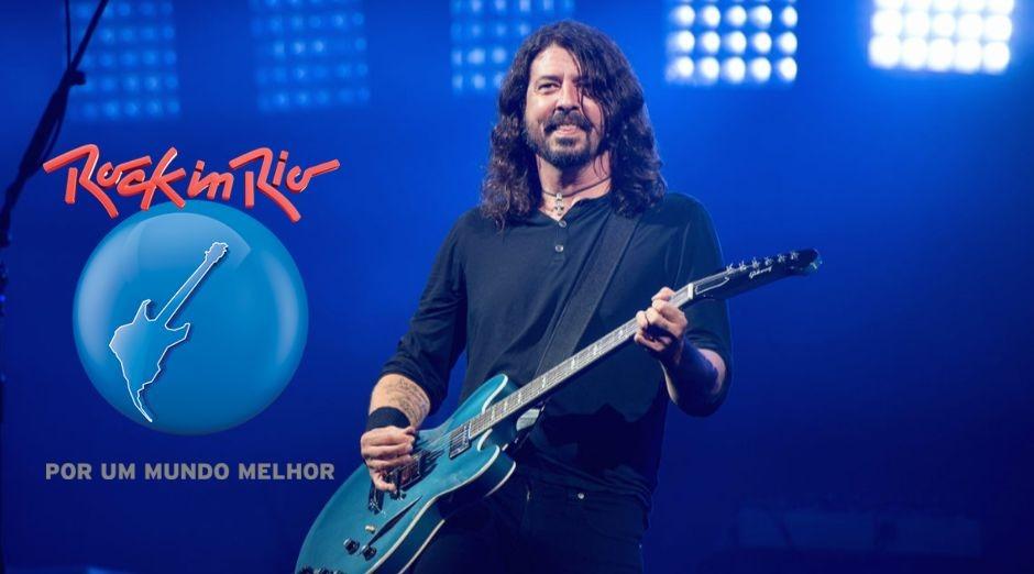Foo Fighters Rock In Rio