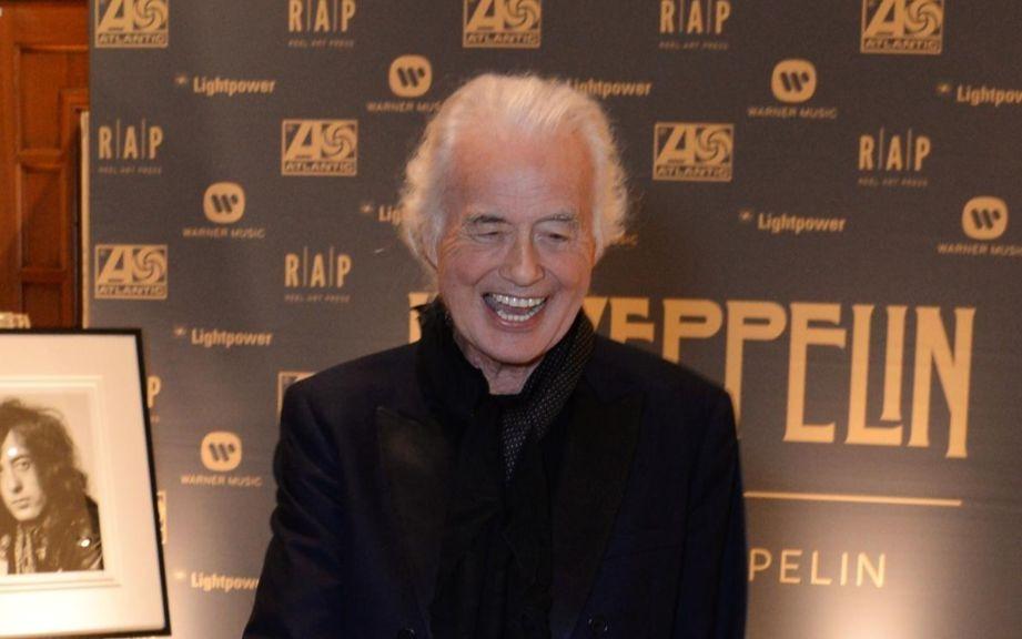 Jimmy Page Led Zeppelin 2019