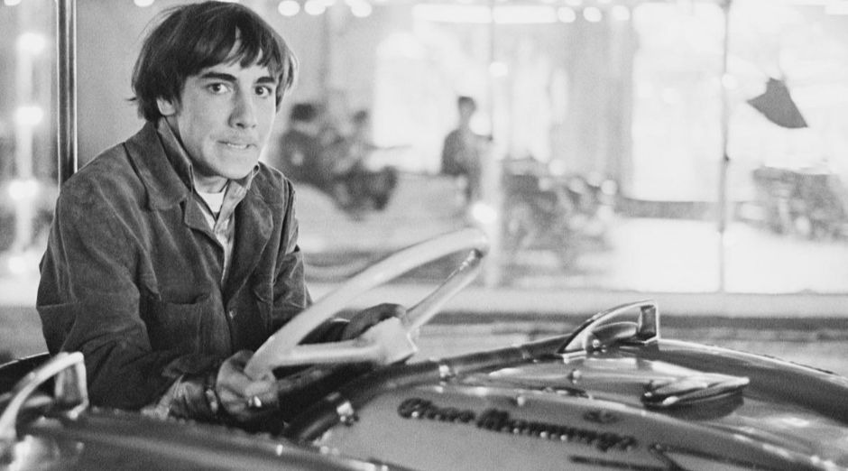 Keith Moon car in the pool